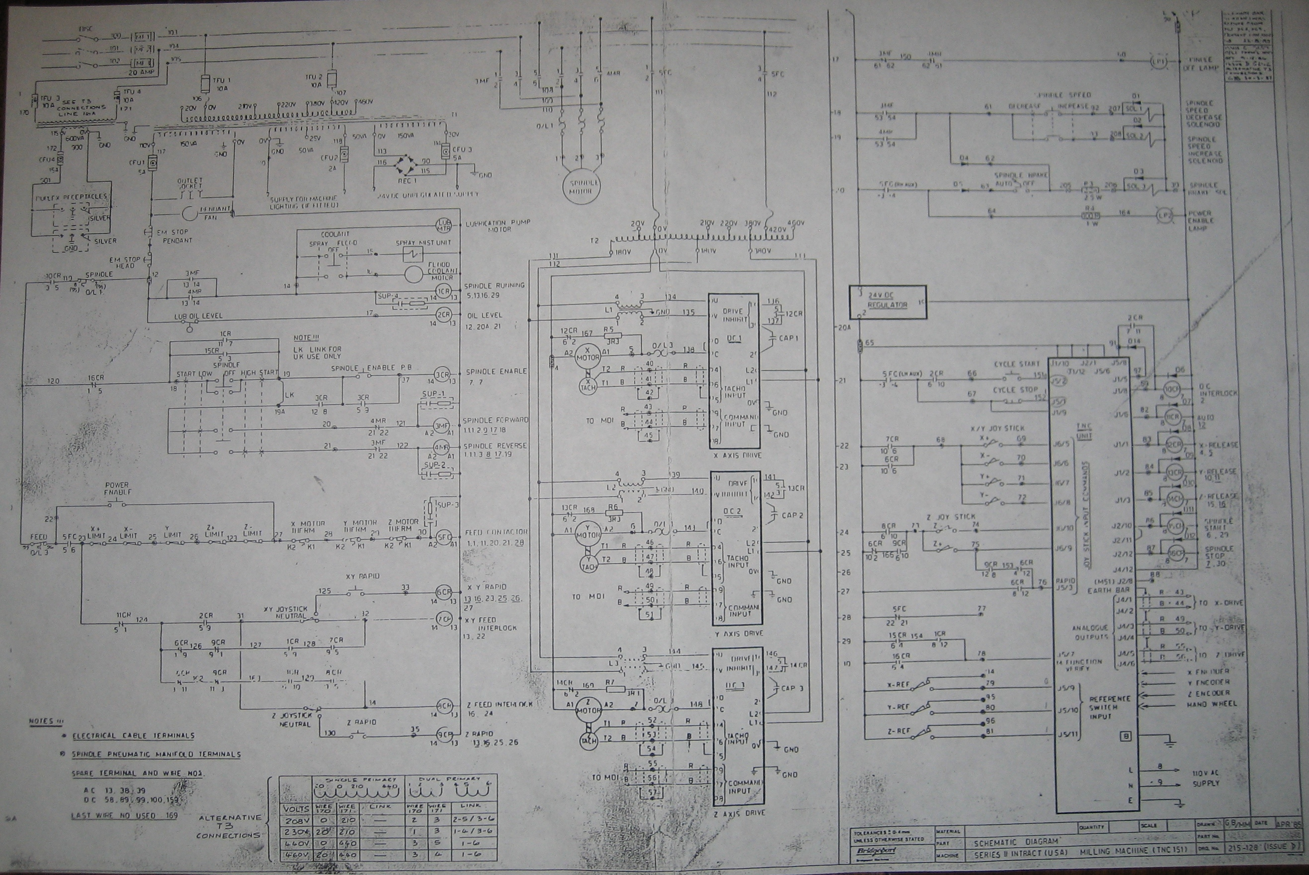 Limit Switches Emc And Inhibits Switch Wiring Diagram In Series Http Igorchudovcom Projects Bridgeport Ii Interact 2 Cnc Mill 07 Schematic Lower Left Corner Near Power Enable Button
