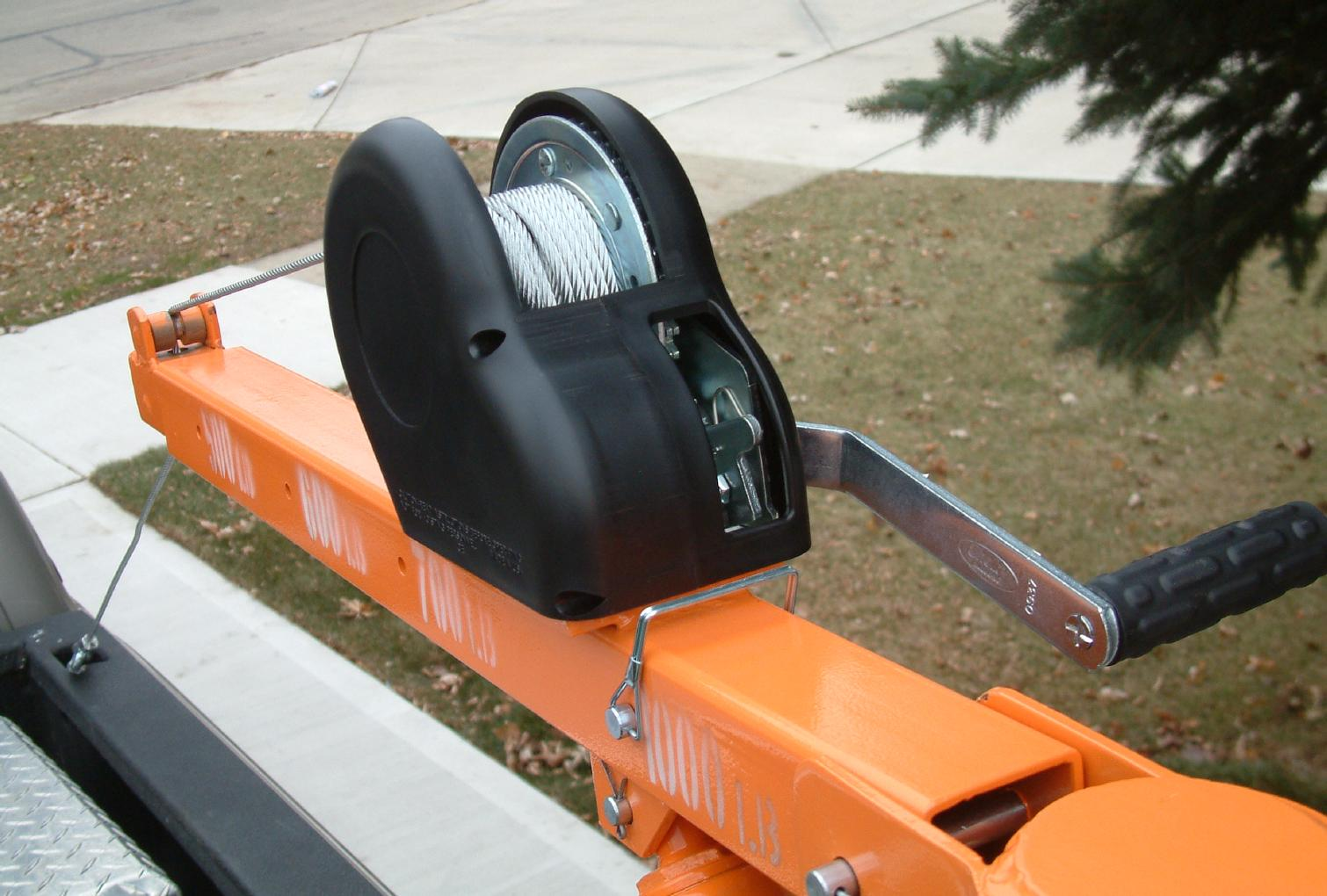 Replacement Winch from <A HREF=http://www.mcmaster.com/>McMaster-Carr</A>