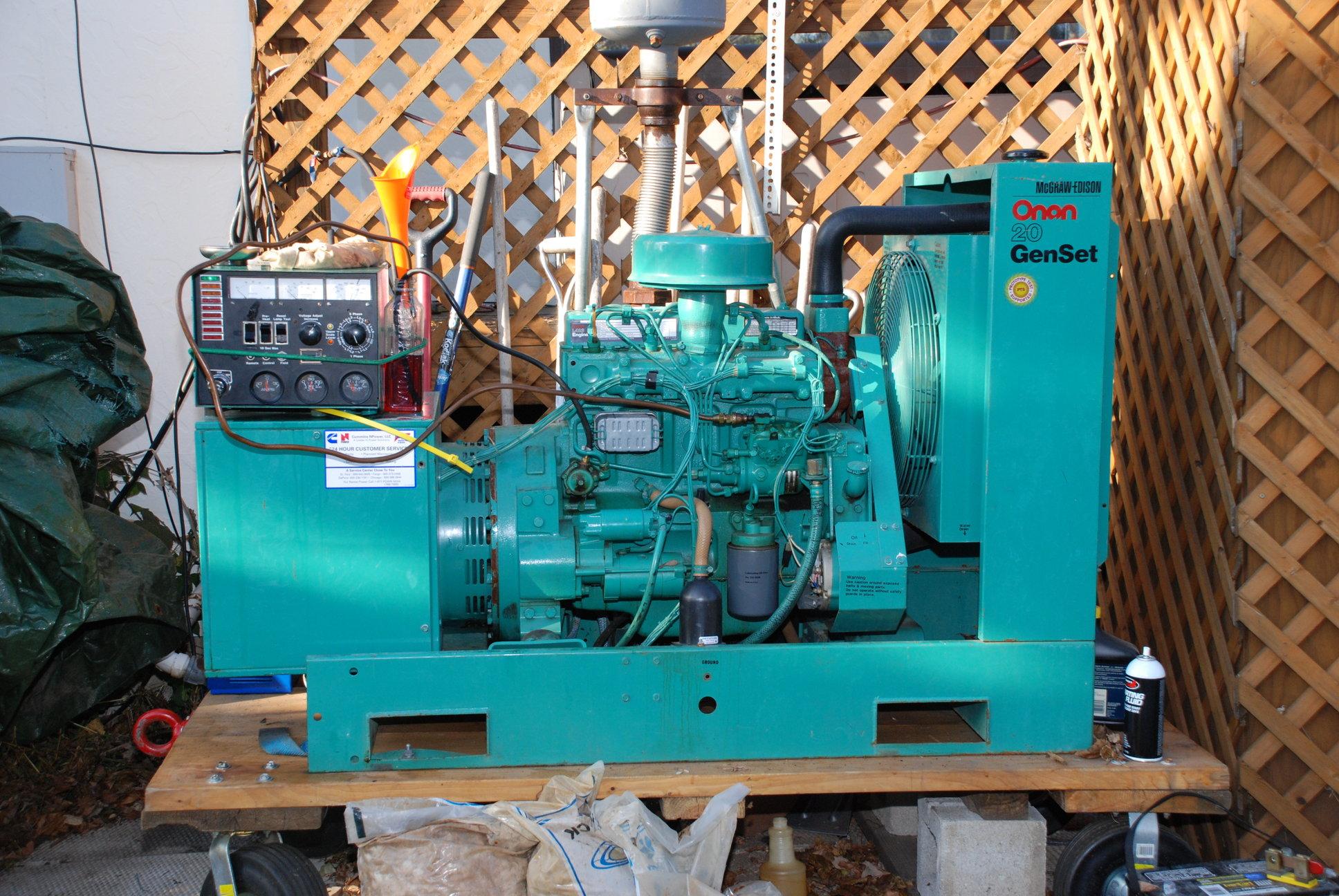Onan 4000 Wiring Diagram Not Lossing For Generator 4500 Emerald Plus