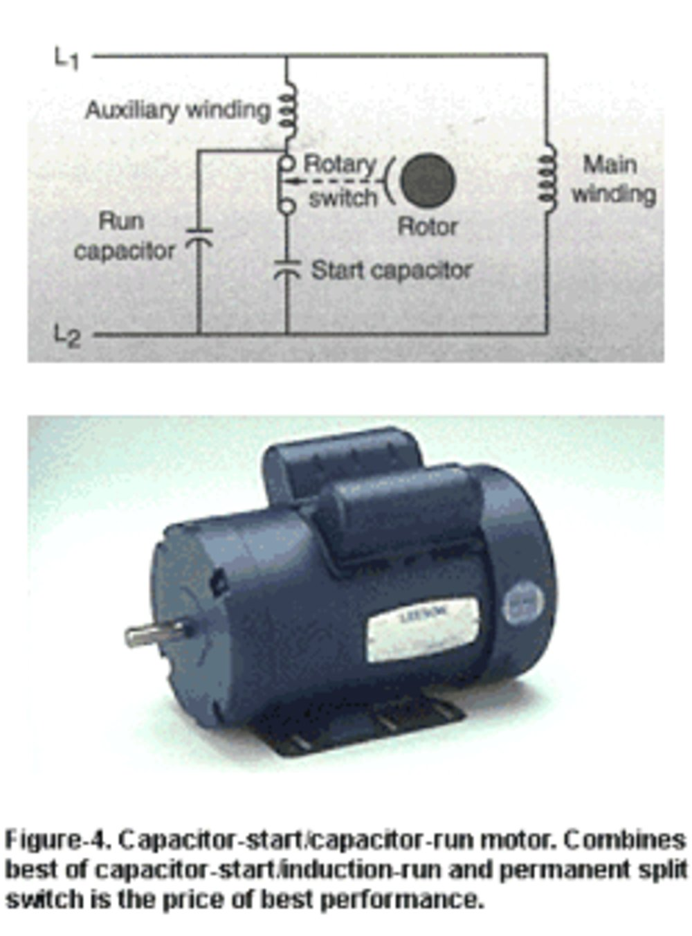 Well Pump Capacitor Wiring Electrical Diagram Motor As 3 Phase Power Baldor 1 Hp Franklin Start