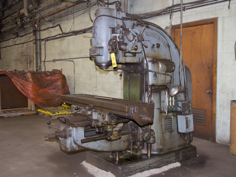 Cincinnati no 3 milling machine for general shop use for Motor machine shop near me