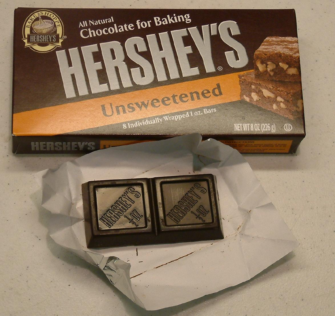 Unsweetened chocolate