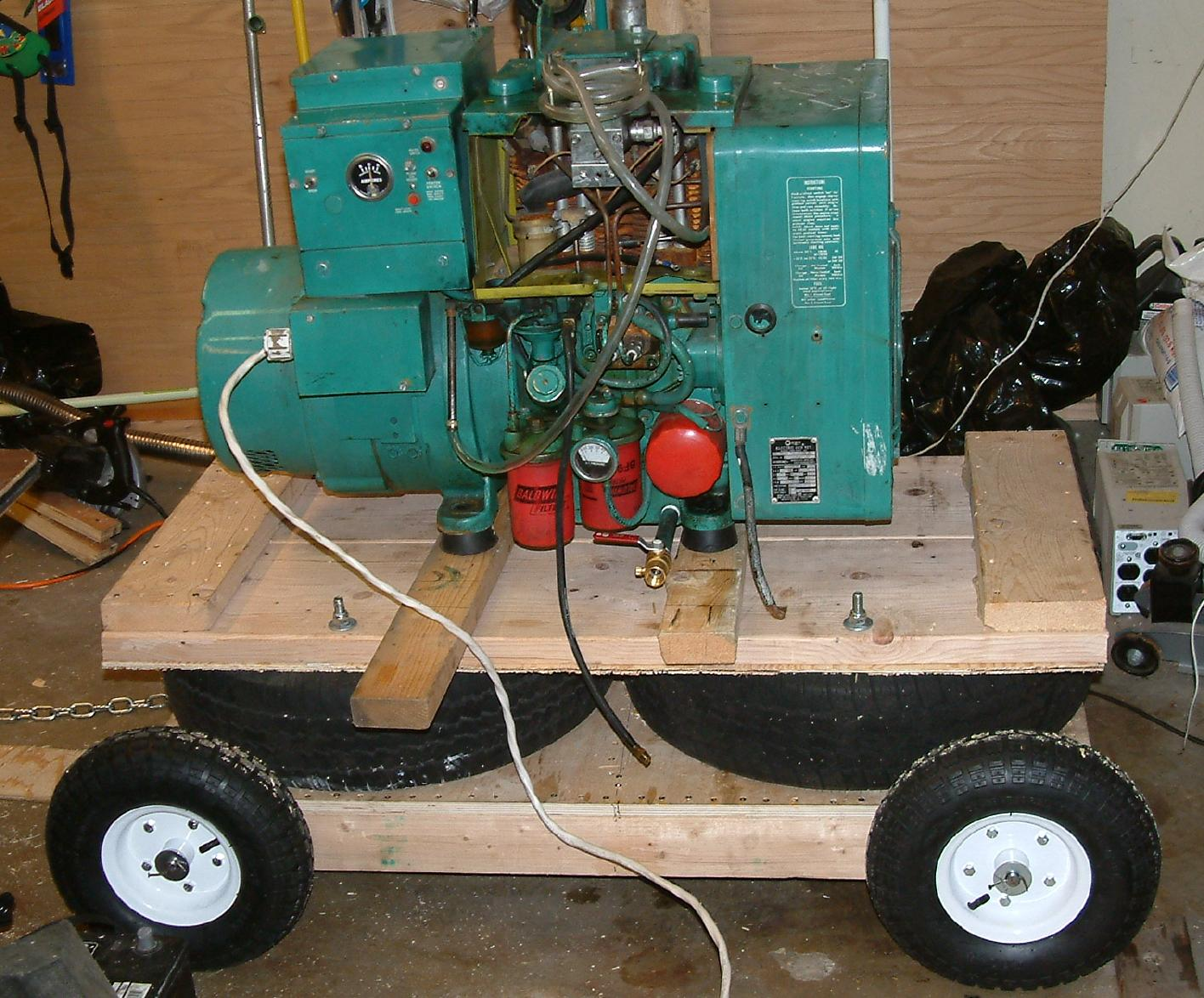 Re: ANOTHER Onan DJE generator starting problem! (Thursday)